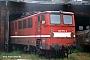 """LEW 11091 - DR """"142 074-4"""" 12.06.1995 - Halle (Saale), Betriebswerk PSteffen Hennig"""