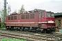 """LEW 11112 - DR """"142 095-9"""" 25.04.1992 - Magdeburg-Rothensee, BahnbetriebswerkNorbert Schmitz"""