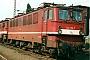 """LEW 11635 - DB AG """"142 119-7"""" 14.05.1994 - Halle (Saale), Betriebswerk PSteffen Hennig"""