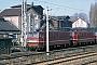 """LEW 11764 - DR """"242 143-6"""" 24.02.1991 - Halle (Saale), Bahnbetriebswerk PIngmar Weidig"""
