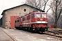 """LEW 11881 - DR """"142 157-7"""" 12.03.1993 - Weißenfels, BahnbetriebswerkFrank Weimer"""