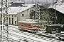 "LEW 8958 - DR ""211 001-3"" 02.01.1986 - Halle (Saale), Bahnbetriebswerk PStefan Kunath"