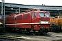 """LEW 9898 - DR """"211 007-0"""" 10.03.1991 - Berlin-Schöneweide, BahnbetriebswerkWerner Brutzer"""
